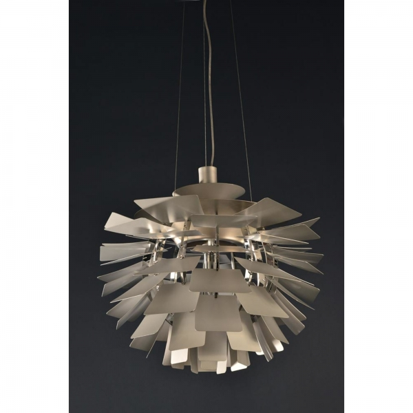 Artichoke Ceiling Light - Chrome