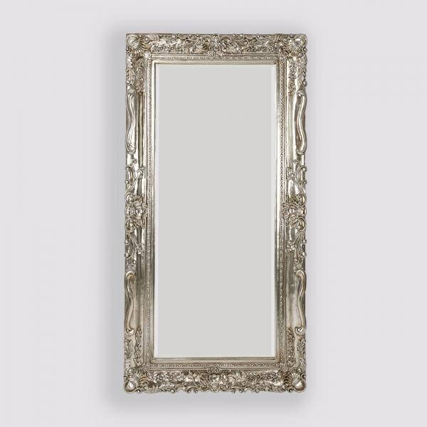 Estella Silver Bevelled Floor Mirror