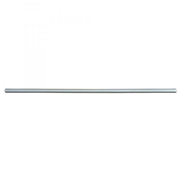 Silver Gilt Leaf Pole 78 inch