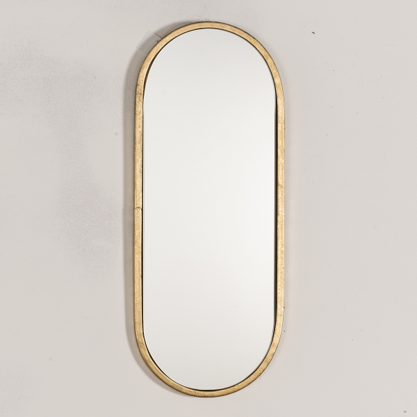 Gold Gilt Leaf Metal Mirror EXTRA PACKAGING