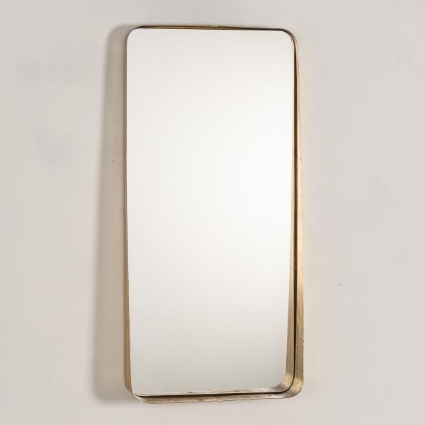 Gin Shu Metal Mirror - Gold Gilt Leaf EXTRA PACKAGING