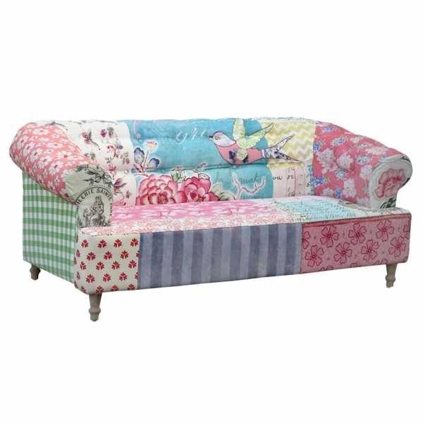 Vintage Settee with Bird