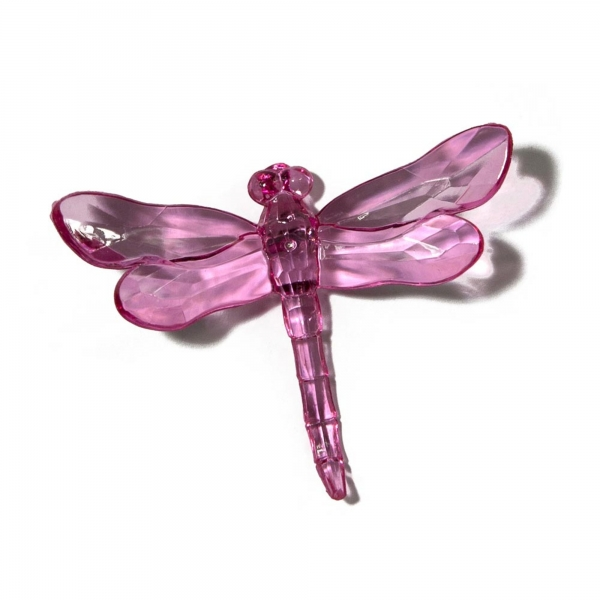 Fuchsia Dragonfly with Spike