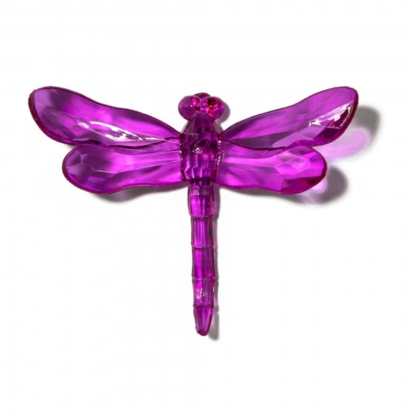 Purple Dragonfly with Spike
