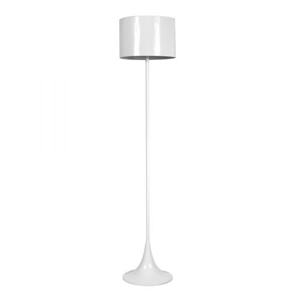 Contemporary Floor Lamp - White
