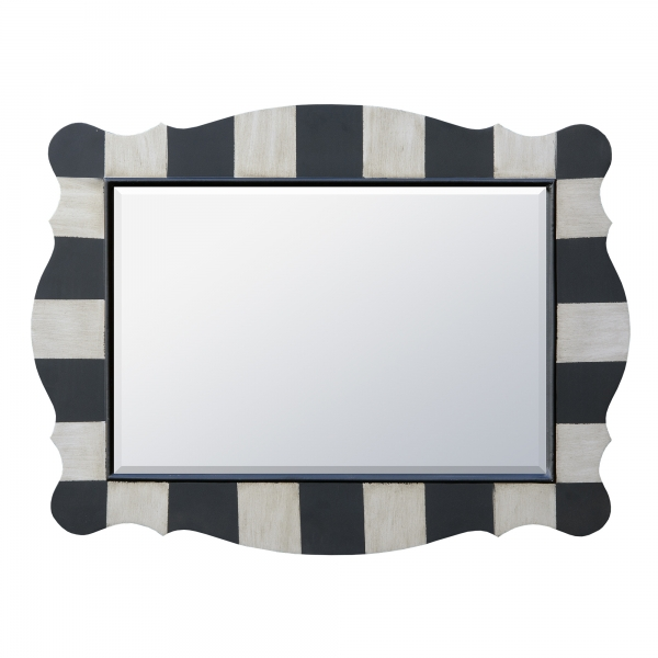 Parallels Mirror - Black and Silver