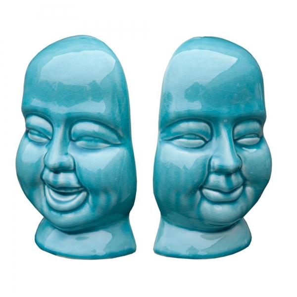 Buddha bookend set of 2