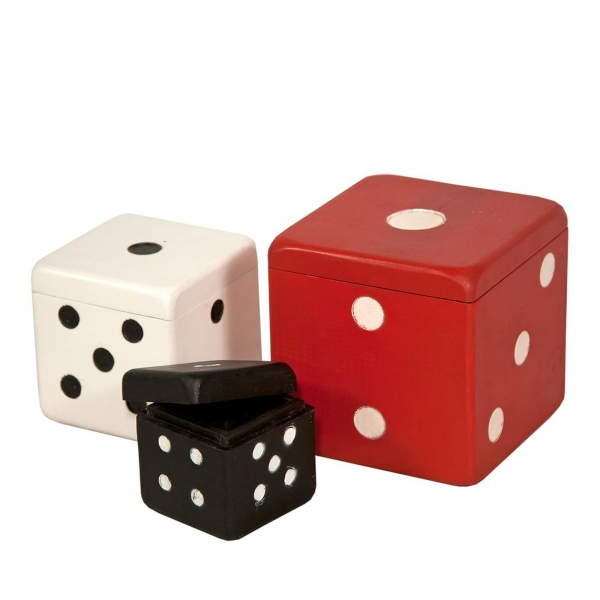 Urban Chic Dice Storage Set
