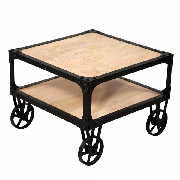 Urban Chic Side Table - Brown