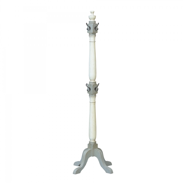 Isabella Coat Stand - Grey and White