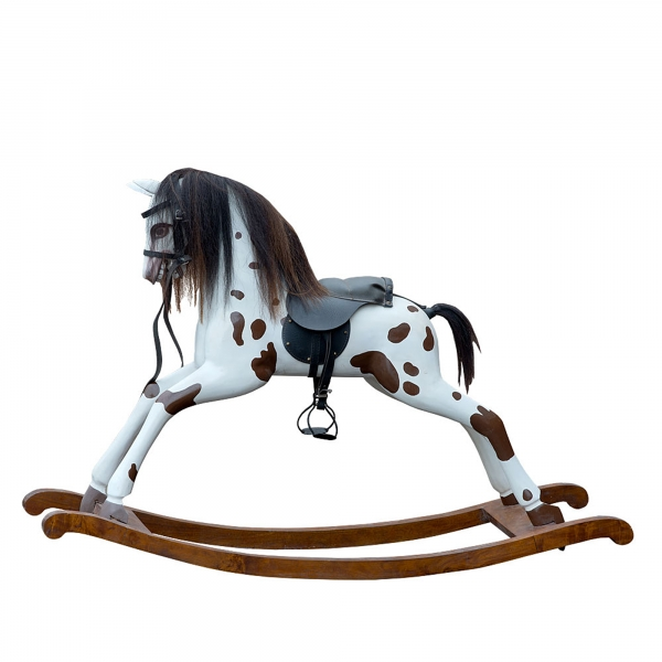 Urban Chic Rocking Horse - White
