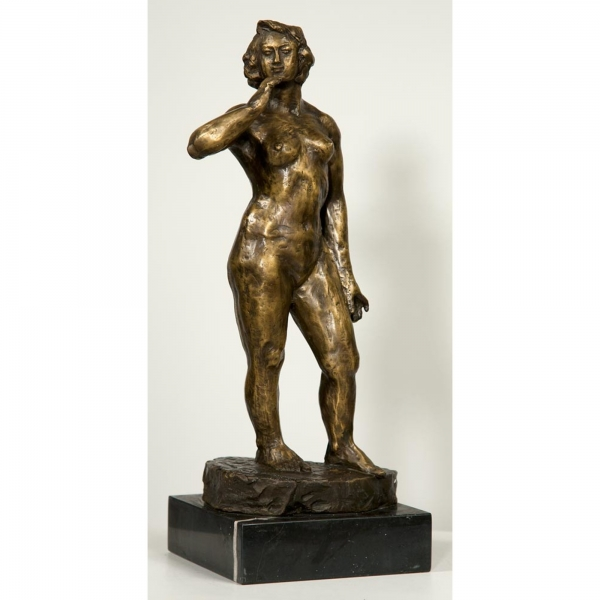 Bronze Woman Life Pose Statue