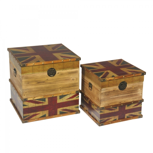 Union Jack Trunk Set