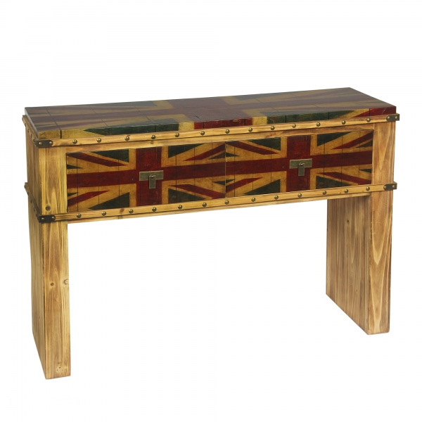 Union Jack Console Table