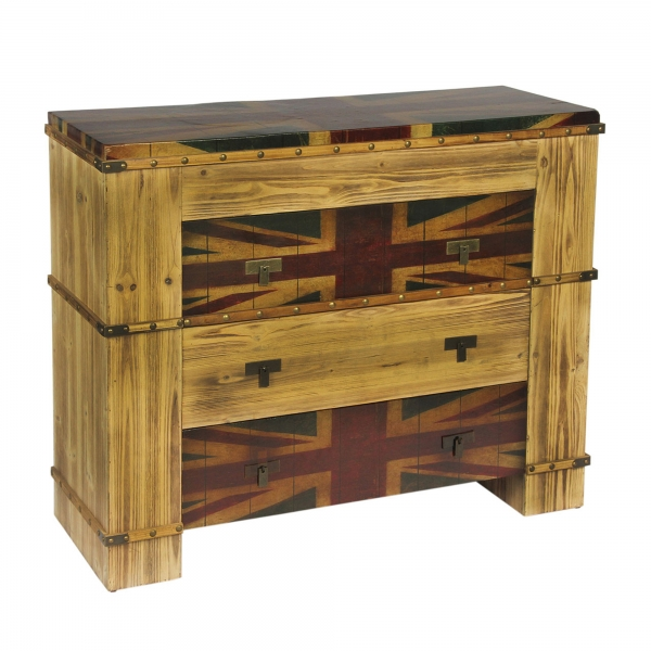 Union Jack Chest of Drawers