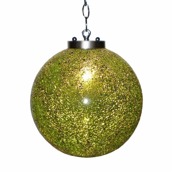 Sparkle Globe Ceiling Light - Green