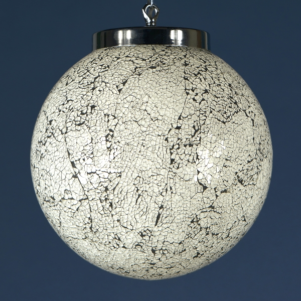 Sparkle Globe Ceiling Light - White