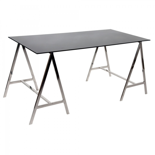 Dining Table Glass - Black