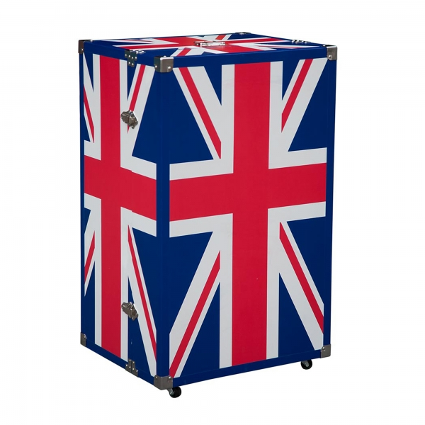 Union Jack Luggage Trunk