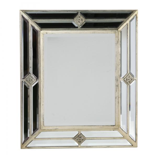 Vintage Venezia Mirror - Antique Silver
