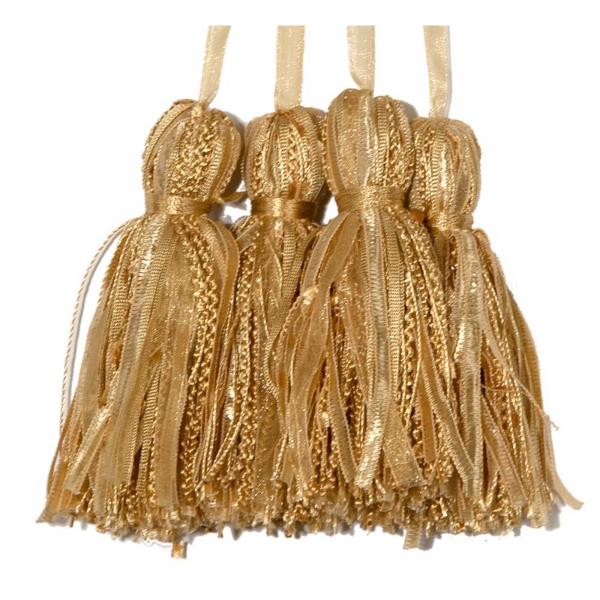 Gold Tassel  - set of 4 pcs