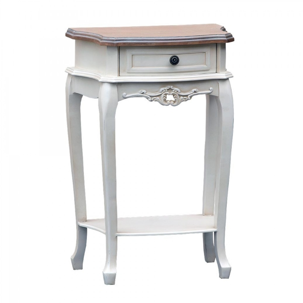 Appleby Bedside Table - White