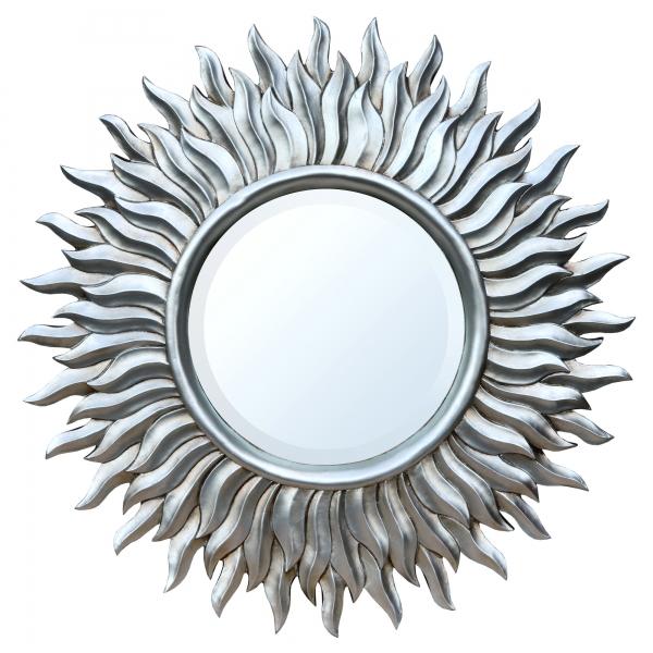 Silver Sunburst  Mirror