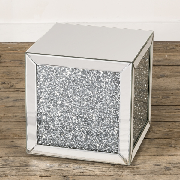 Crushed Diamond Occasional Table