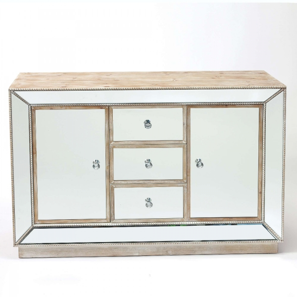 Pearl Mirrored Sideboard Cabinet