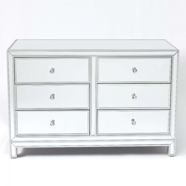 Chauteaneuf Mirrored Sideboard Chest of Drawers