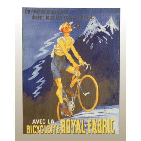 Canvas Print - Royal.Fabric