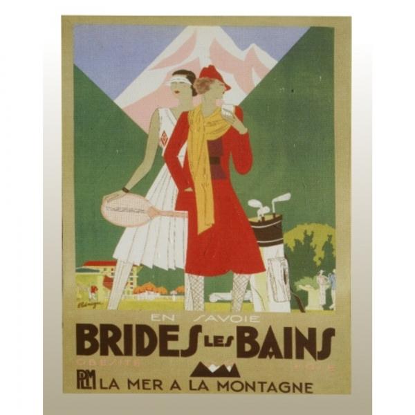 Canvas Print, Brides les Bains