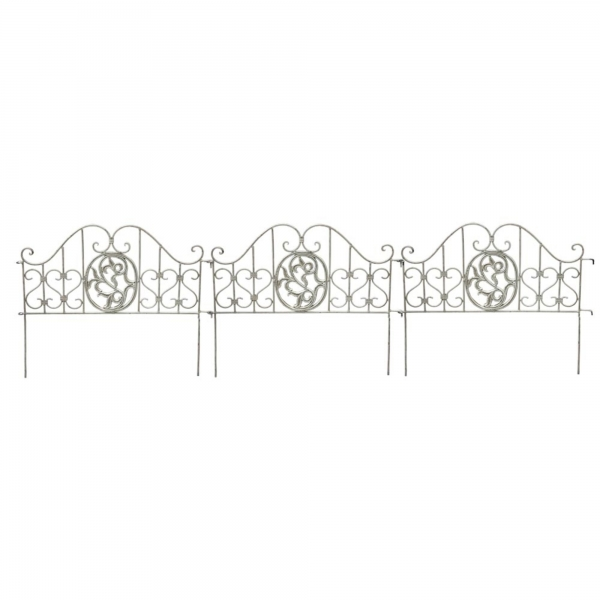 Garden Flower Bed Dividers (set of 3)