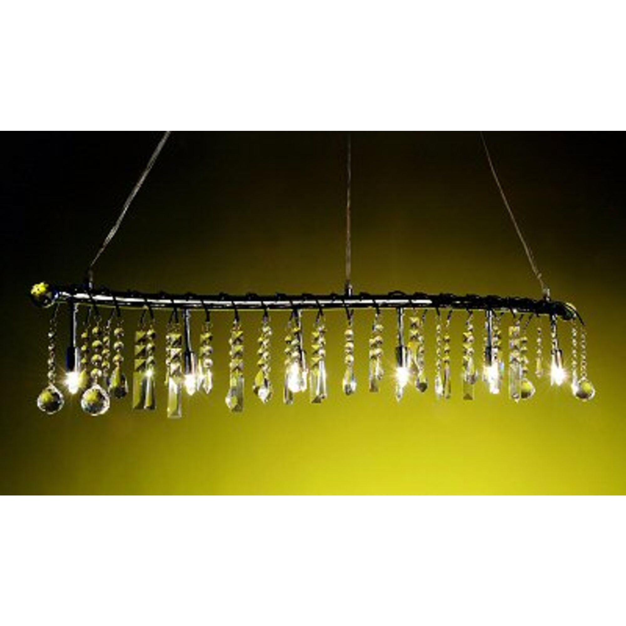 Snake Ceiling Light - Chrome