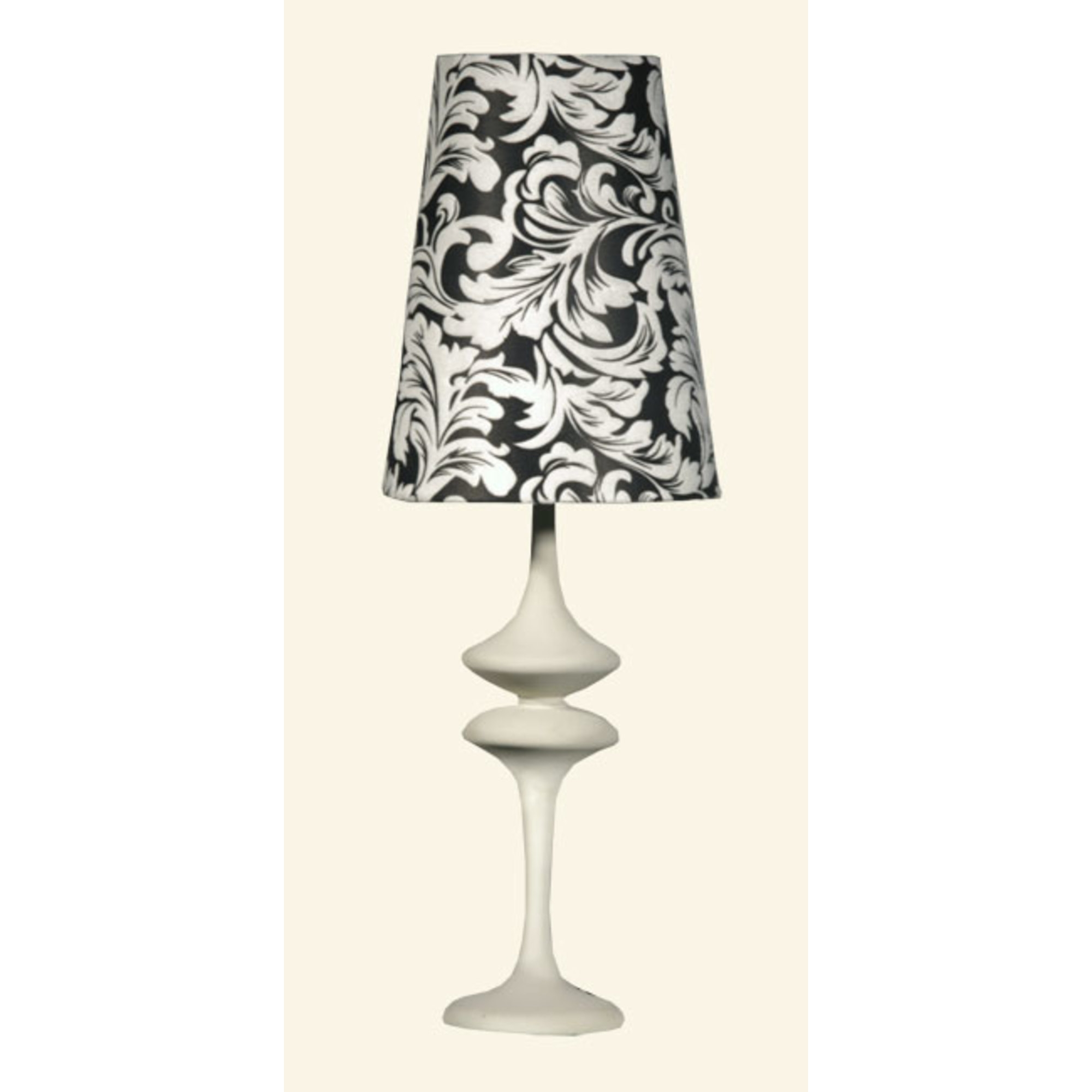 Table Lamp - Black and White