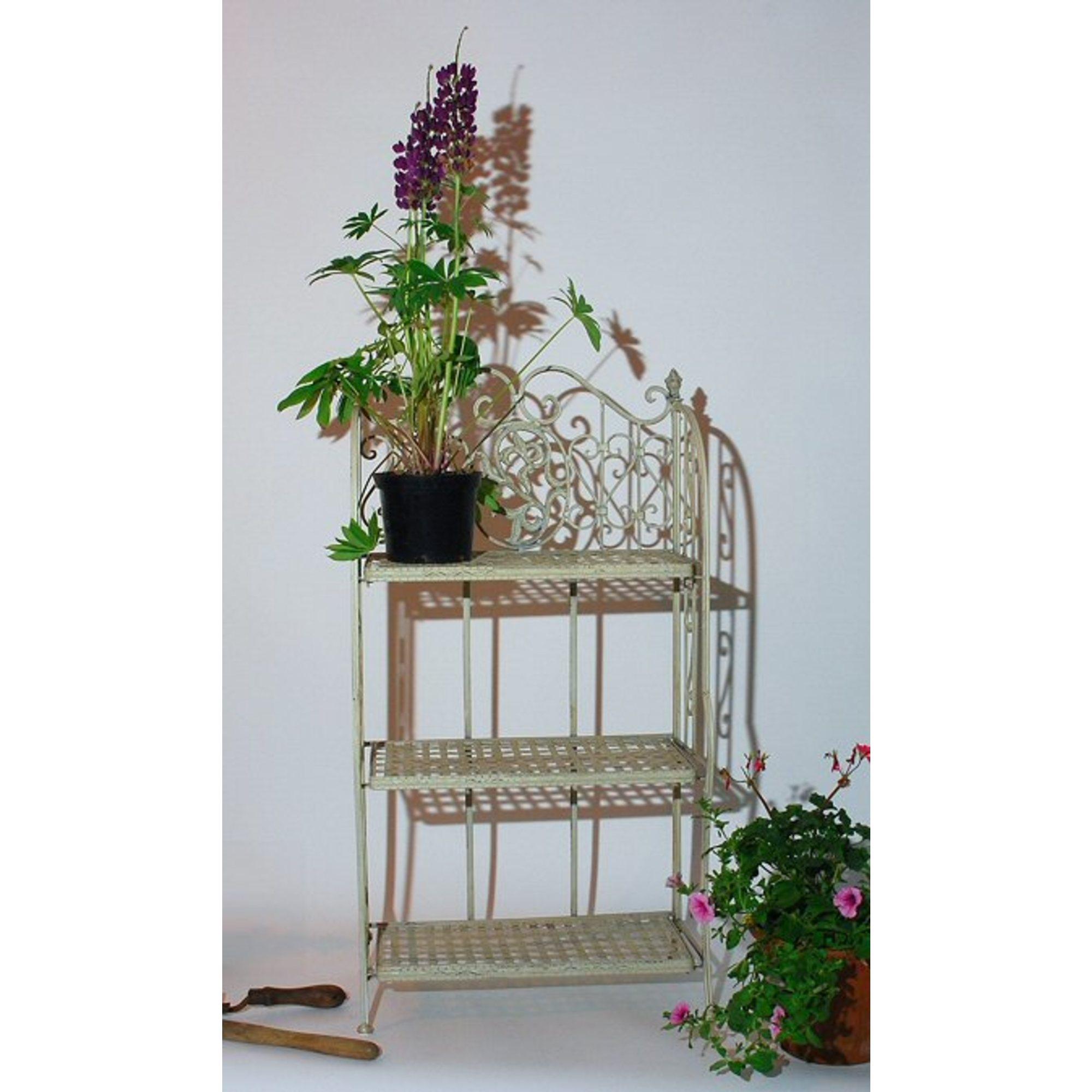 3 Tier Bookshelf Plant Vase Stand