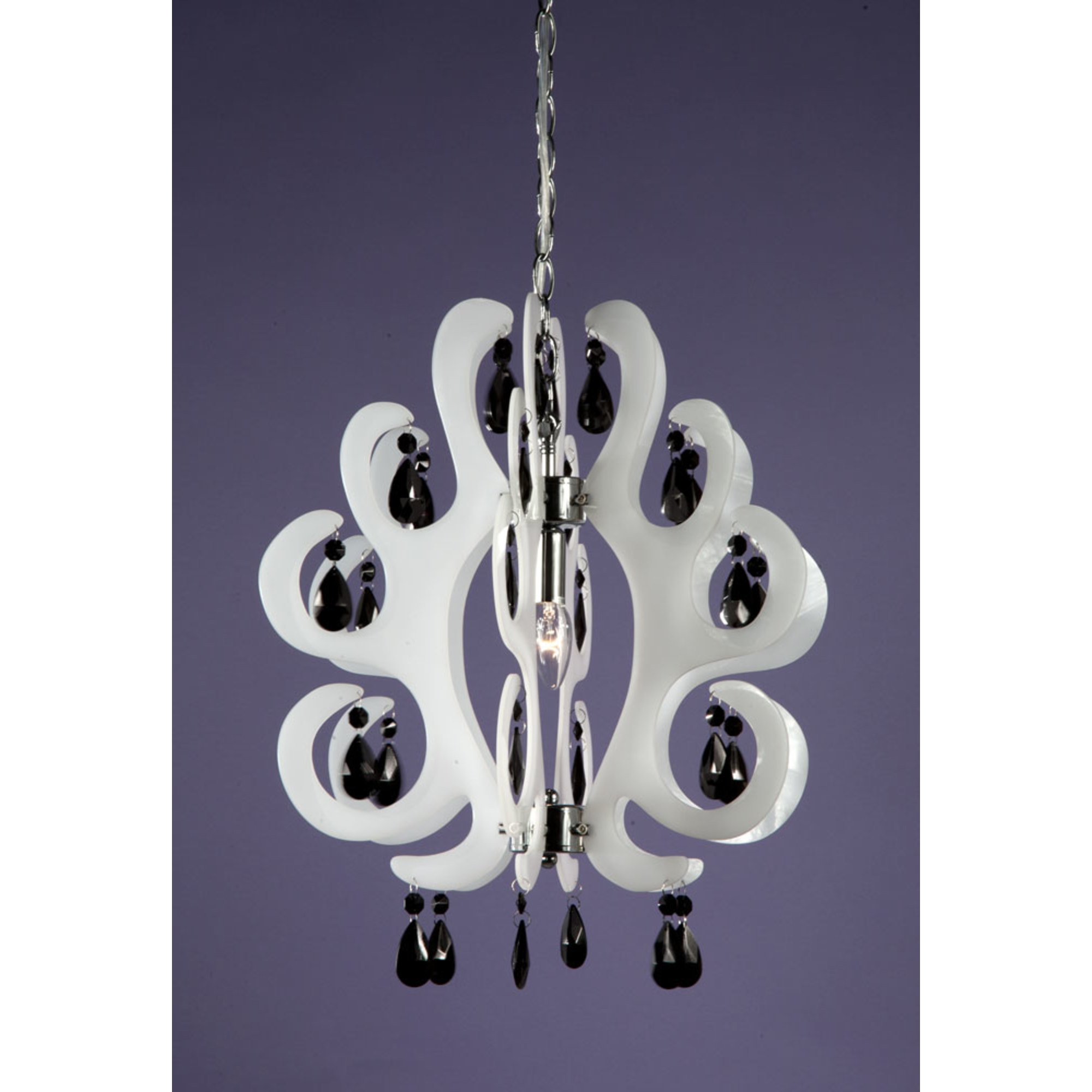 Curl Acrylic Ceiling Light - White