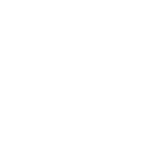 Fluted Heart Metal Mirror - Silver
