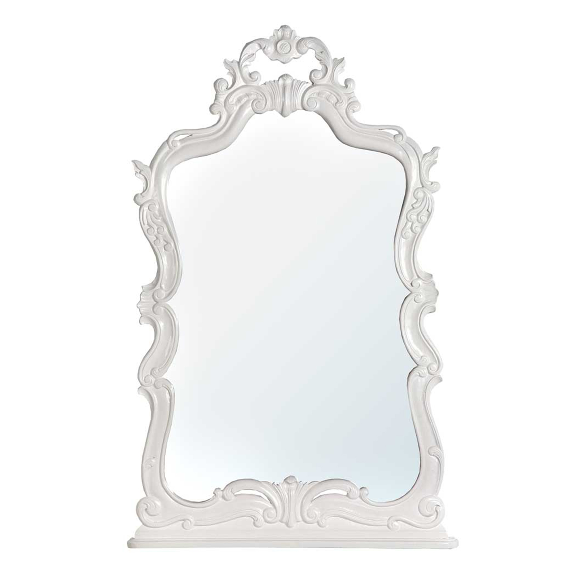 Belle Chambres Mirror - White