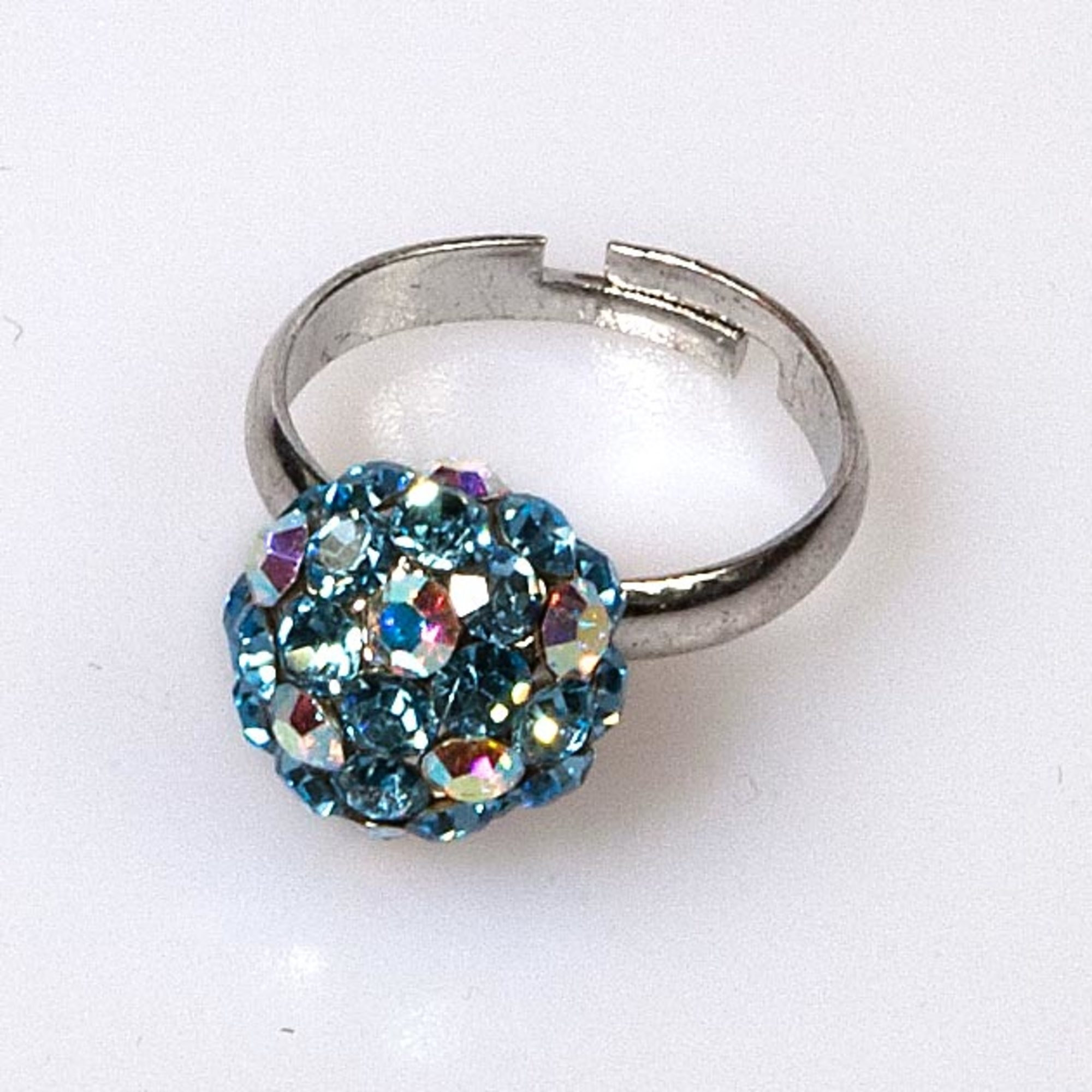 AQUA MARINE MINI BALL RING