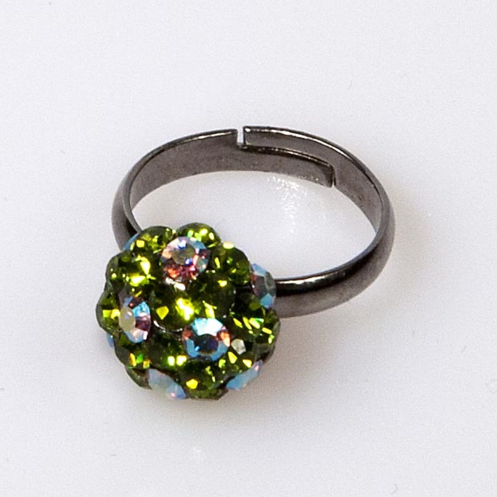 OLIVE MINI BALL RING