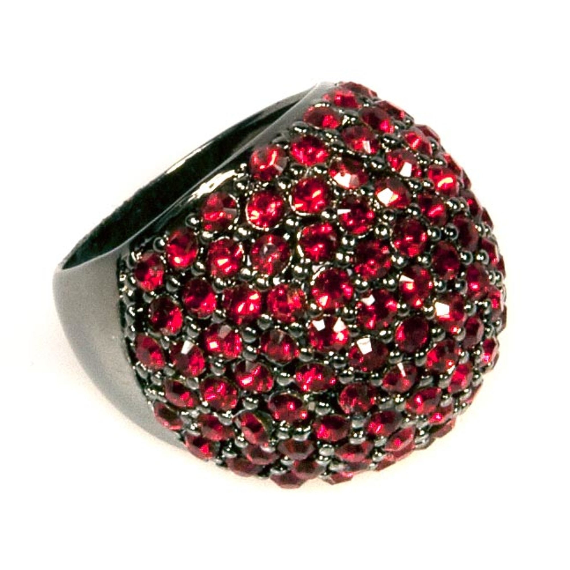 Ruby Bold Plain Ring