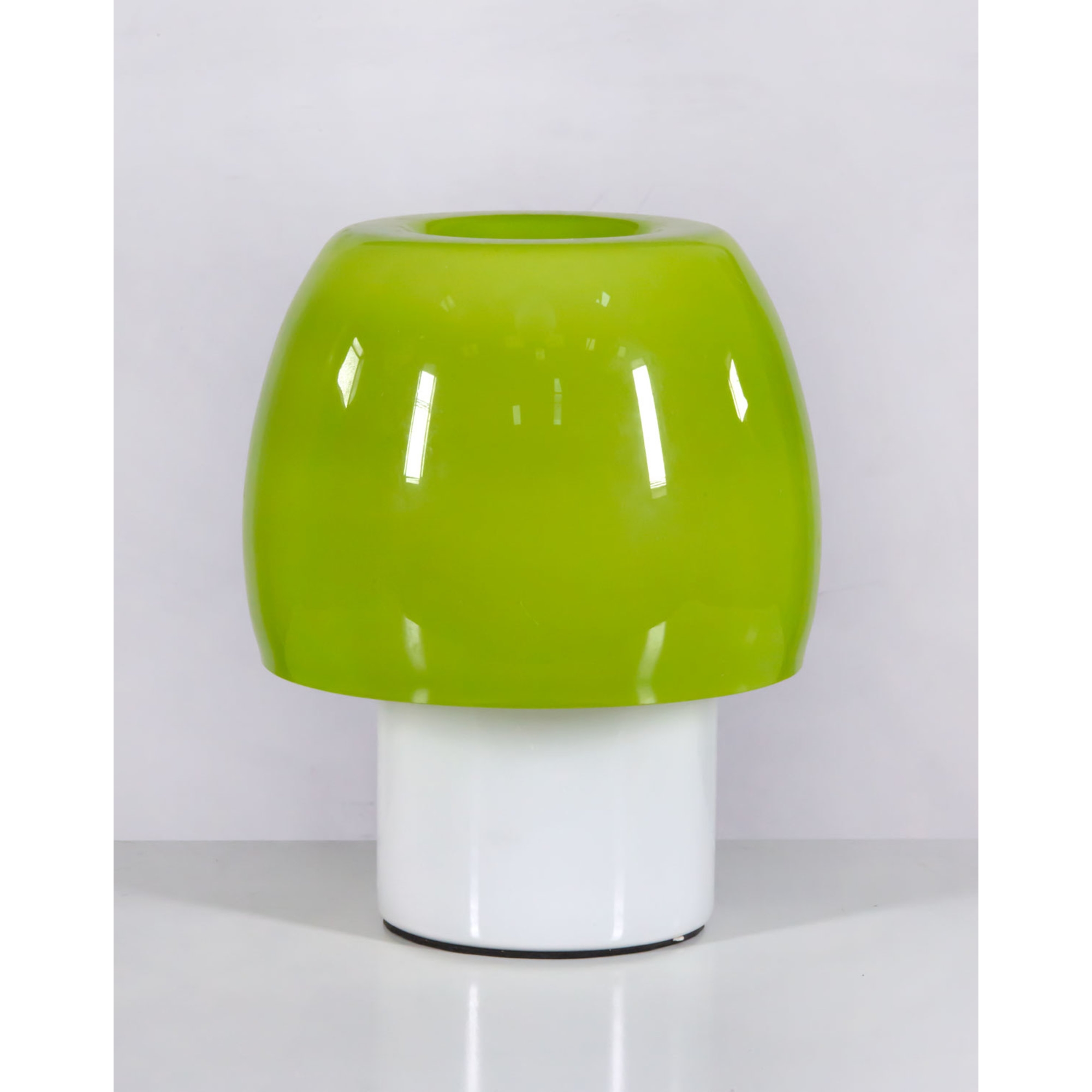 Retro Mushroom Table Lamp - Green